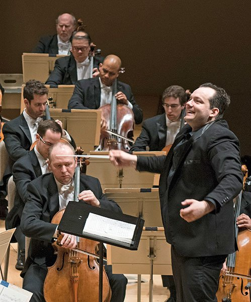 Andris Nelsons leads Mahler 9,(Liza Voll photo)