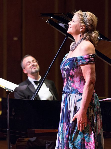 Susan Graham with pianist Brian Moore (Robert Torres photo)