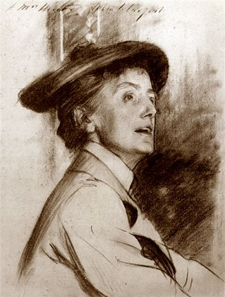 Smyth in 1901 by Sargent