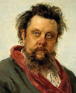 Moussorgsky by Ilya Repin