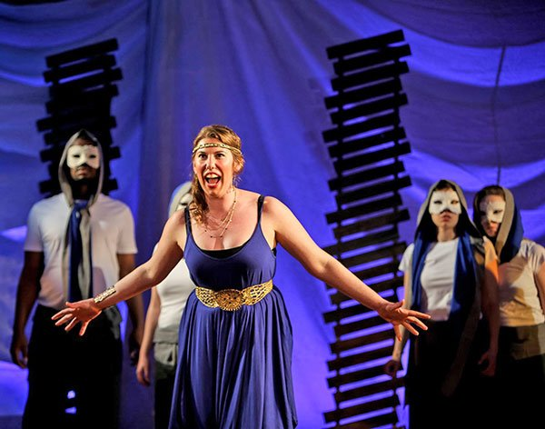 Lindsay Conrad as Elettra (Dan Busler photo)