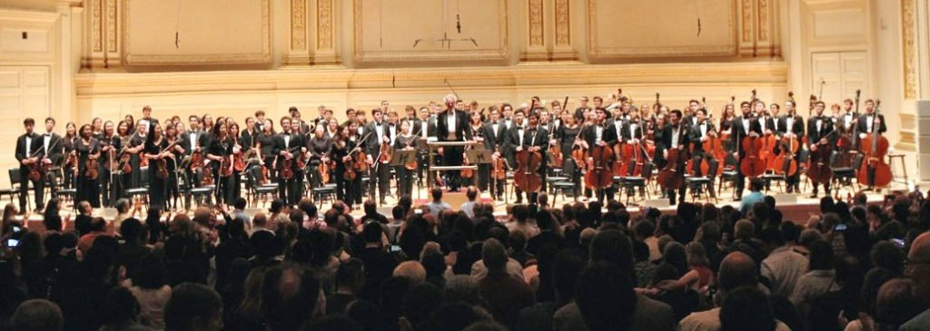 Standing ovation at Carnegie Hall