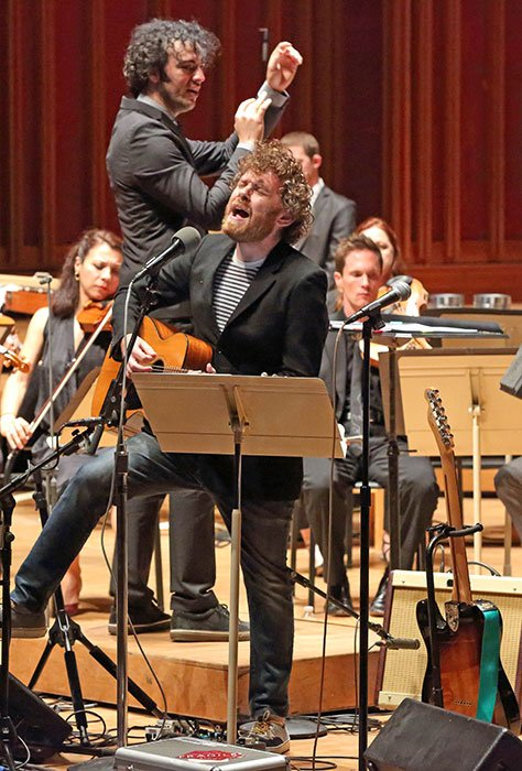 Gabriel Kahane and The Knights (Hilary Scott photo)