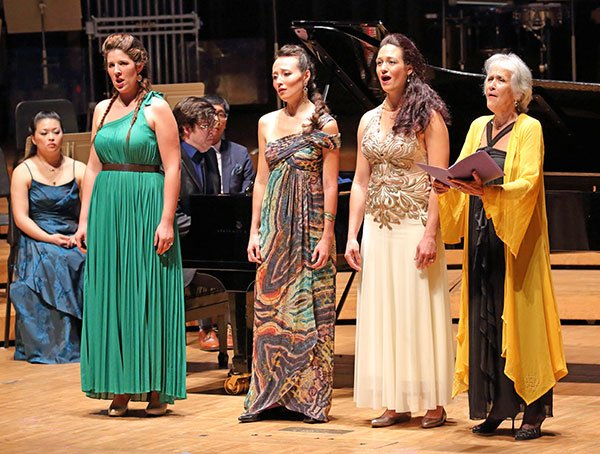 Cait Frizzel, l Fleur Barron, Adriana Velinova and Lucy Shelton (Hilary Scott photo)