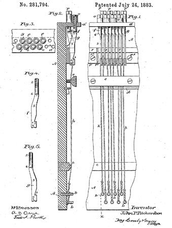 Screwstringer patent drawing