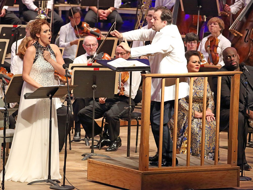 Kristin Opolais and Andris Nelsons