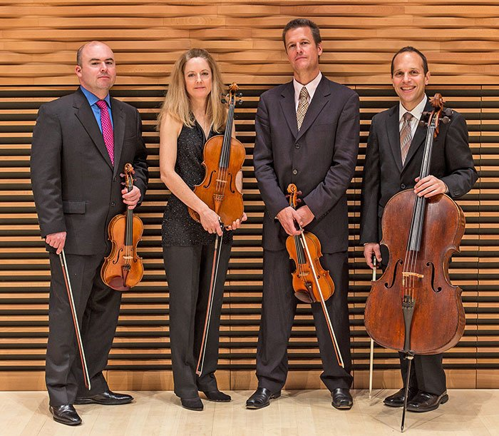 St. Lawrence Quartet (Eric Cheng photo)
