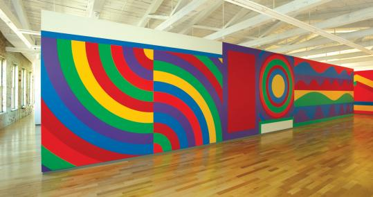 Lewitt gallery at MassMOCA
