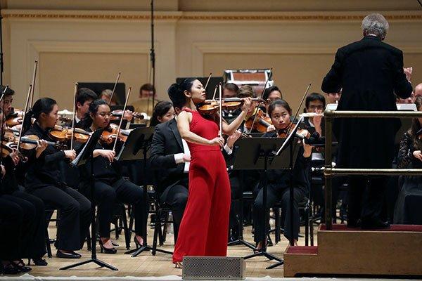 BPYO & soloist Ayano Ninomiya, Carnegie Hall