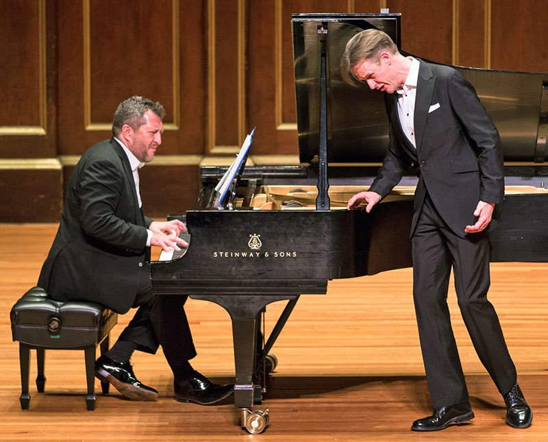 Thomas Ades and Ian Bostridge (Robert Torres photo)