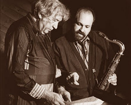Gunther Schuller and Joe Lovano