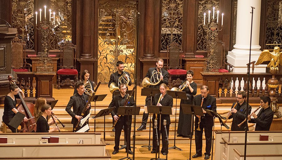 Grand Harmonie at Memorial church (Sarah Paysnick photo)
