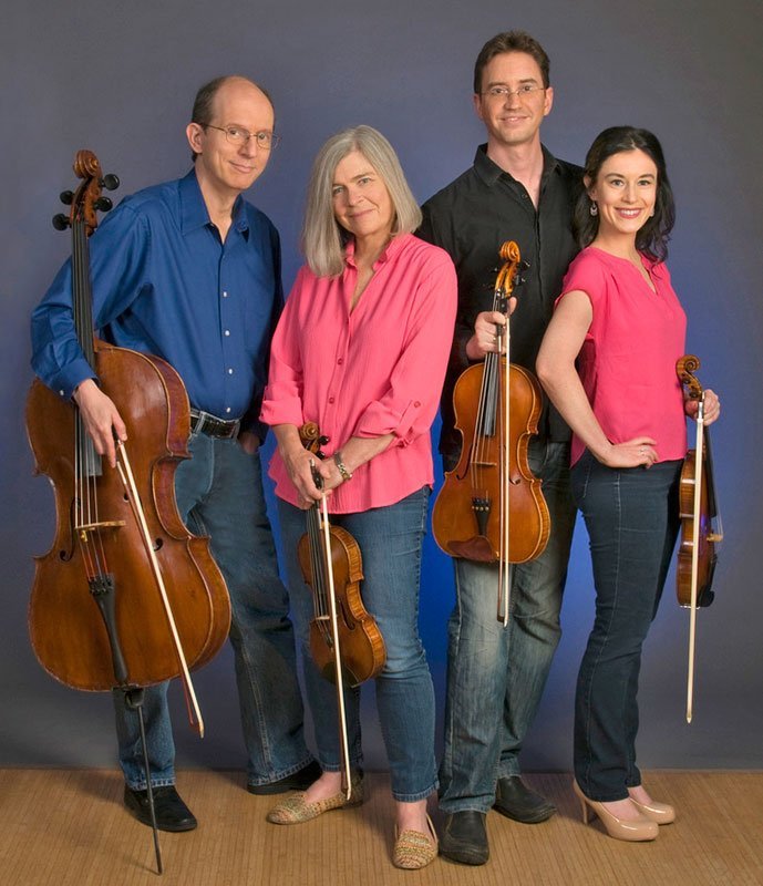 The newest Lydian Quartet (Susan WIlson photo)
